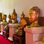 Buddha statue in Thailand — Stock Photo #9221441