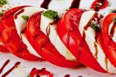 Classic caprese salad — Stock Photo