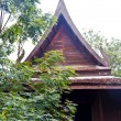 Wood thai home — Stock Photo