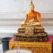 Buddha statue in Thailand — Stock Photo #9613001