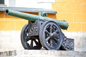 The ancient cannon in Moscow Kremlin — Stock Photo