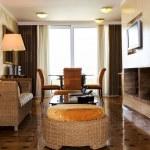 Interior of hotel room — Stock Photo