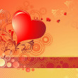 Abstract valentine background — Stock Vector