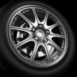 Stock Photo: Automotive Wheel Or Tyre