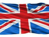 Bandeira do reino unido da grã-bretanha — Foto Stock