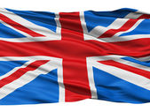 Flag United Kingdom Of Great Britain — Stock Photo