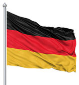 Waving Flag of Germany — Stock Photo