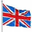 Stock Photo: Flag United Kingdom Of Great Britain