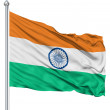 Flag of India — Foto Stock