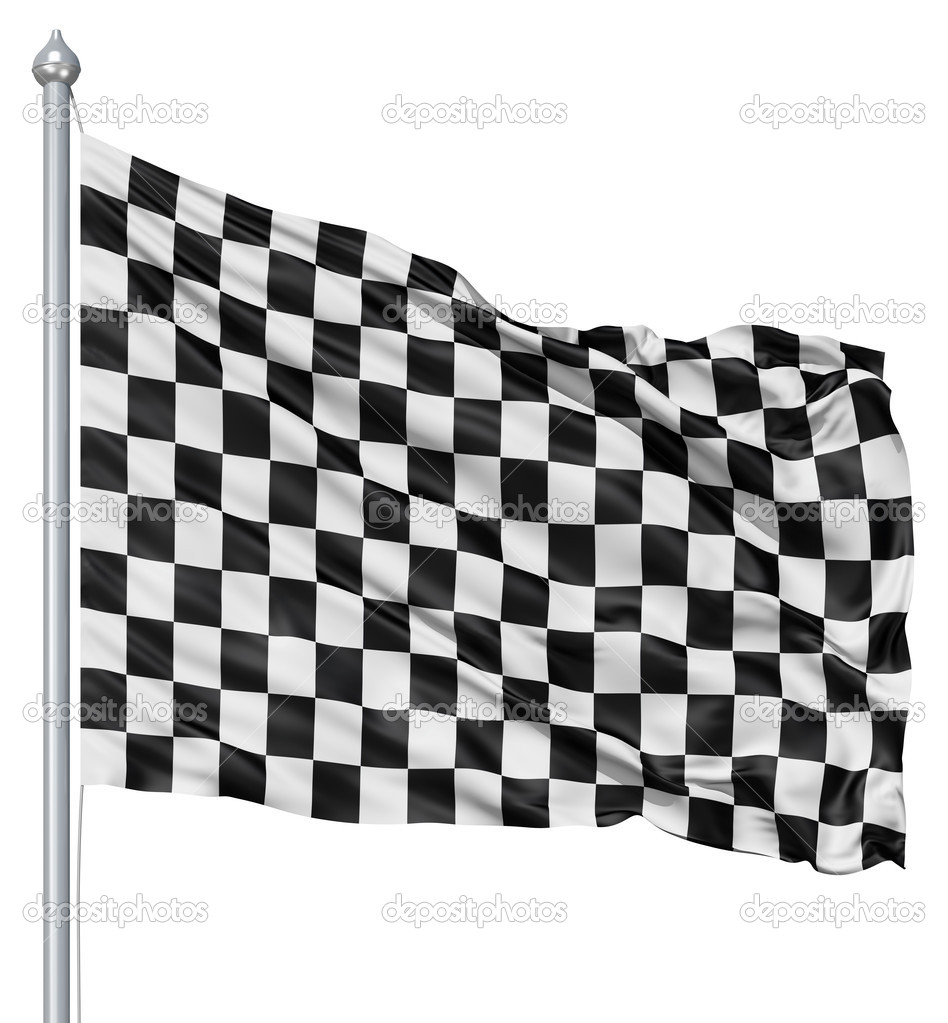 drapeau damier noir et blanc photographie fckncg. Black Bedroom Furniture Sets. Home Design Ideas