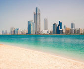 Gulf coast in Dubai — Stock Photo