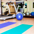 Stock Photo: Equipment, gym apparatus