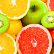 Big assortment of fruits — Stock Photo #8001618