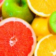 Big assortment of fruits — Stock Photo #8359274