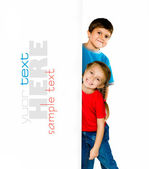 Little kids — Stock Photo
