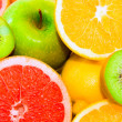Big assortment of fruits — Stock Photo #8405481