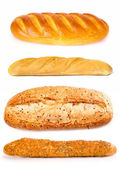 Set of a loafes — Stock Photo