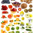 Stock Photo: Big collection of vegetables