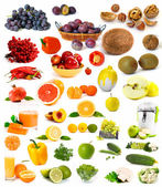 Big collection of vegetables — Stock Photo