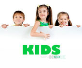 Cute little kids — Stock Photo