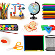 Stock Photo: Group of school objects