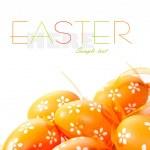 coloridos huevos de Pascua pintados — Foto de Stock