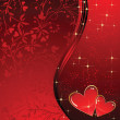 Stock Vector: Valentine background