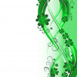 Royalty-Free Stock Vector Image: St. Patrick background