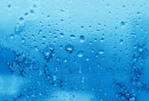 Ledu a vody kapky textura — Stock fotografie