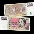 Czech money — Stock Photo