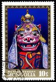 Mongolia postage stamp — Stock Photo