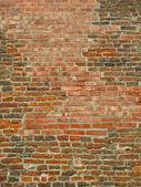 Ancient brick wall — Stock Photo