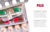 Pile of pills — Stock Photo
