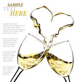 Vino blanco — Foto de Stock