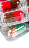 Pills in packs — Stock Photo