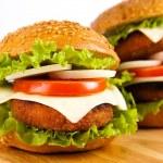 Hamburger — Stock Photo #8582474