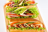 Sandwiches — Foto Stock