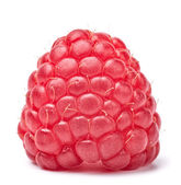 Raspberry on white — Stock Photo