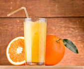 Orange juice — Stok fotoğraf