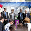 KIEV, UKRAINE MAY 11. 2012: The UEFA Cup is coming to Kiev. — Stock Photo