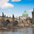 Prague. Charles Bridge in Prague  Czech Republic - Photo