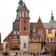 Wawel Cathedral  in Krakow, Poland - Stock Photo