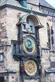 Astronomische klok. praag. tsjechische republiek — Stockfoto