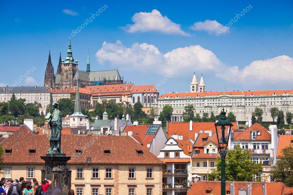 Prague city, one of the most beautiful city in Europe — Stock Photo #9410783