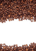 Brown roasted coffee beans — Foto de Stock