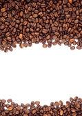 布朗烤咖啡豆 — 图库照片