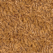 Seamless wrinkled brown paper texture - background for continu — Stock Photo