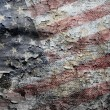 Grungy American flag background. — Stock Photo #10378639