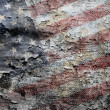 Grungy Americflag background. — Photo #10378639