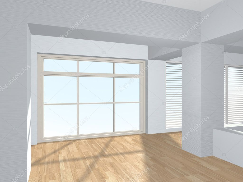 3d interior. — Stock Photo #10649401